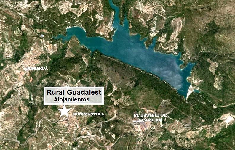 Rural guadalest c mo llegar a nuestras casas rurales en guadalest - Casa rural guadalest ...